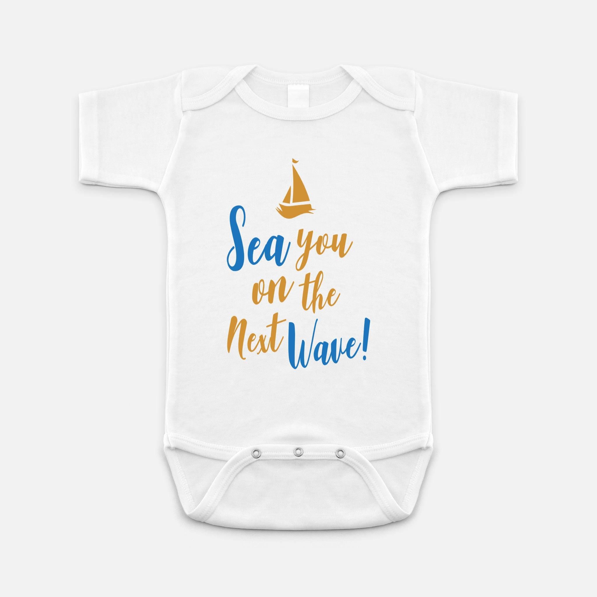 Sailor Shirt Beach Baby Clothes Nautical Birthday Outfit Sea