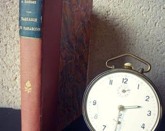 "Romance - Alphonse DAUDET - old edition of ""Tartarin de Tarascon"" - classic French literature"