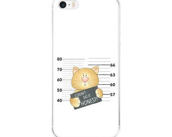 iPhone Case Naughty Cat - Ginger