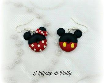 Orecchini Minnie e Mickey