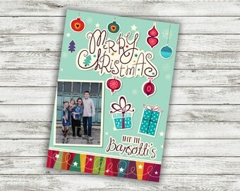 Family Christmas Card, Photo Christmas Cards, Our First Christmas, Personalized Christmas Cards, Holiday Cards, Photo, Picture, Custom Cards
