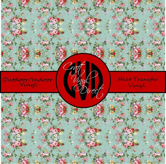 Beautiful Patterned Vinyl // Patterned / Printed Vinyl // Outdoor and Heat Transfer Vinyl // Pattern 290