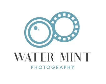 Water Mint | Pre-Made Photography Logo