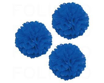 """BLUE Puff Ball 