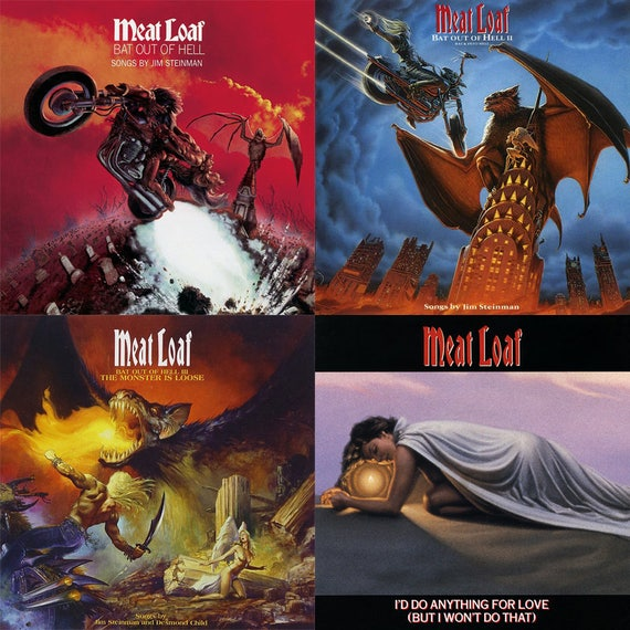 Meat Loaf Album Cover Sto...