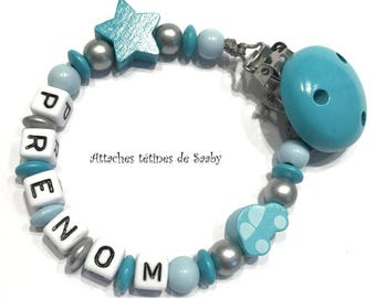 Pacifier clip to be personalized