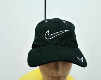 Rare Vintage NIKE Big Logo Cap Hat Free Size Fit All