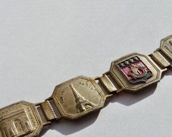 1940s Paris Souvenir Bracelet