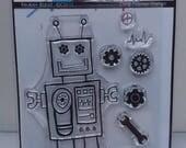 Reuben Robot A7 stamp set by Imagine Design Create