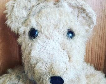 Vintage Teddy Bear, Vintage Ted, Antique Teddy, Old Teddy Bear, Gift For Her, Collectable Teddy Bear.