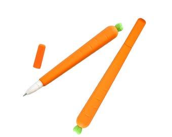 Carrot Pen, Black Colour, Creative