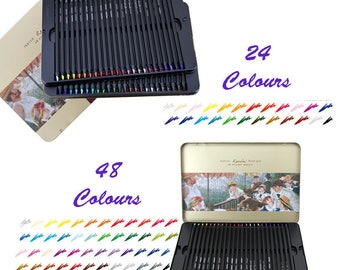 Marco Oil Colour Pencils, Creative, Drawing, Painting, Colouring, Stationery
