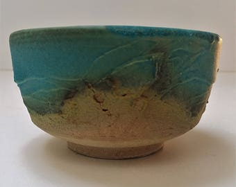 Chawan turquoise