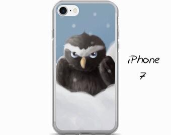 OWL iPhone Case, Cute iphone cover, animal art phone case, iPhone 5, 5S, SE, 6, 6S, Plus, 7, 7 Plus