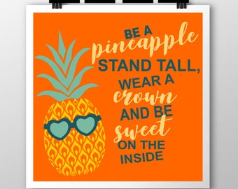 Be a Pineapple SVG