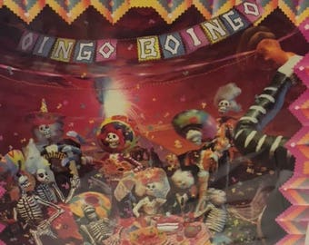 """Oingo Boingo- """"Dead Man's Party"""", 33 rpm 12"""" new wave album, 80's pop rock music, """"Just another Day"""", """"Weird Science"""", """"Fools Paradise"""""""