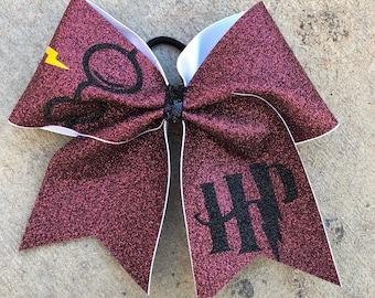 Harry Potter glittter bow