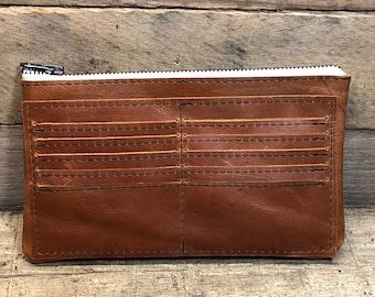 Handmade Leather Wallet, Leather Wallet, Handmade Woman's Wallet, Woman's Leather Wallet, Handmade Leather Wallet, Wallet Organizer