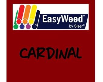 Siser EasyWeed Heat Transfer Vinyl - HTV - Cardinal