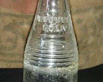 On Sale Vintage 1937 Double Cola soda bottle.