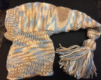 Greyhound/sighthound handknit hat