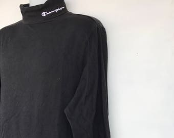 Champion turtle neck sweatshirt