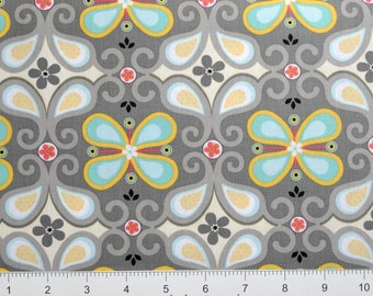 "AdornIt ""Rhapsody Collection"" ~ Rhapsody Flutter ~ 00508 ~ BUTTERFLY'S  By The Half Yard ~"