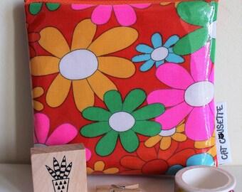 Bag fabric coated 12 x 11 cm small pan squash