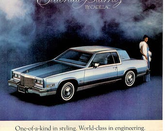 1979 Cadillac Coupe Vintage Magazine ad Digital Download 1706
