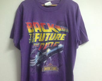 Vintage 1996 Back To The Future Movie Shirt
