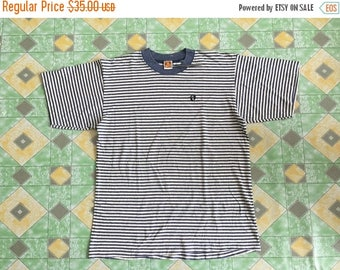 10% Off 15 Percent Off with Coupon Code!!! Vintage 90s Hang Ten Stripes Shirt