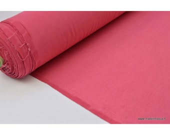 Fabric super soft Jersey viscose bamboo color raspberry