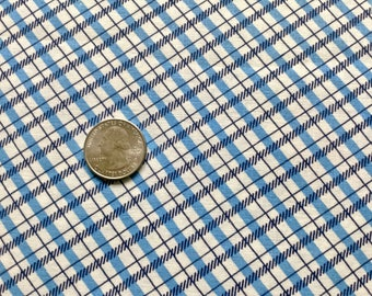 """35"""" Wide Diagonal Check Quilting Fabric - 1 yard and 32 inches long"""