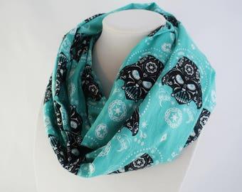 STAR WARS scarf, Dark Vador gift, Woman scarf, teen gift, infinity scarf, Birthday gift, girl power, girl scarf