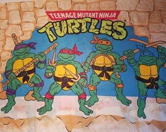 TMNT pillowcase 1988 Teenage Mutant Ninja Turtles