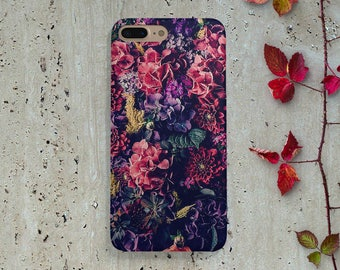 iPhone 7 Case Flowers, iPhone 6 Case Flower, Floral iPhone 6s Case, iPhone 6 Plus Case, iPhone 7 Plus Case, iPhone 5 Case Samsung S8 S7 S5