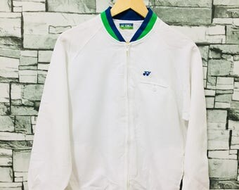 Vintage 80s yonex bomber jacket