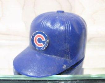 Vintage early 1970s mlb CHICAGO CUBS OPI mini gumball baseball helmet cap