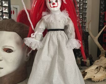 Ceramic Pennywise Doll