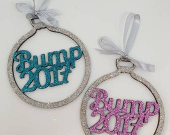 Christmas bauble, first Christmas, bump 2017 personalised bauble, christmas ornament, mummy to be, pregnancy gift, baby shower