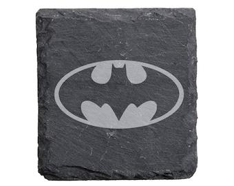 Batman Slate Coaster Set