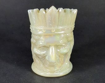 Joe St. Clair Indian Chieftain Toothpick Holder