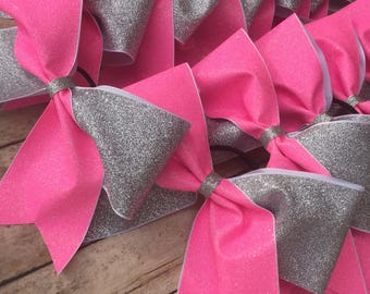 Cheerbow, glitter bow,2 color