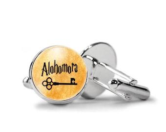 Alohomora Harry Potter Cufflinks PM-498