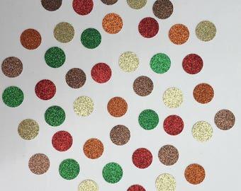 Fall Confetti Autumn Confetti Glitter Confetti Shower Confetti Baby Confetti Wedding Confetti Birthday Confetti