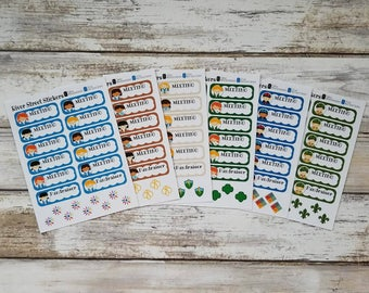 Girl Scouts/Boy Scouts Planner Stickers