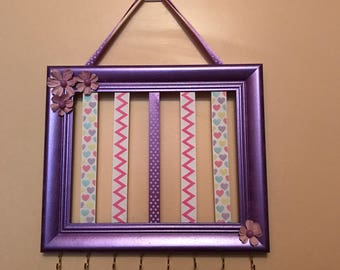 Headband & Hairbow Holder Frame