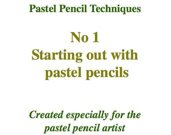 Starting Out with Pastel Pencils E-Book