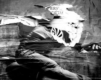 black and white digital photography 50/67cm