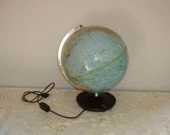 """Globe Colomb """"Duplex"""". Earth map. Globe terrestre. Vintage. Mappemonde. Allemagne."""